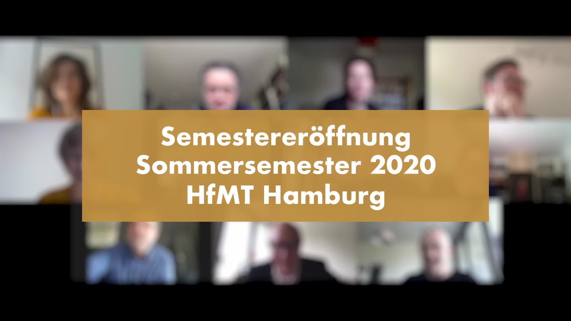 Thumbnail - Online-Semestereröffnung - Sommersemester 2020