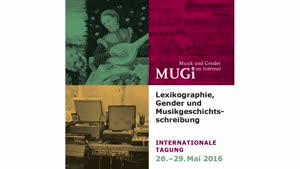 Thumbnail - Vergangenheit / Gegenwart / Visionen. Präsentation der Plattform Musik und Gender im Internet (MUGI)