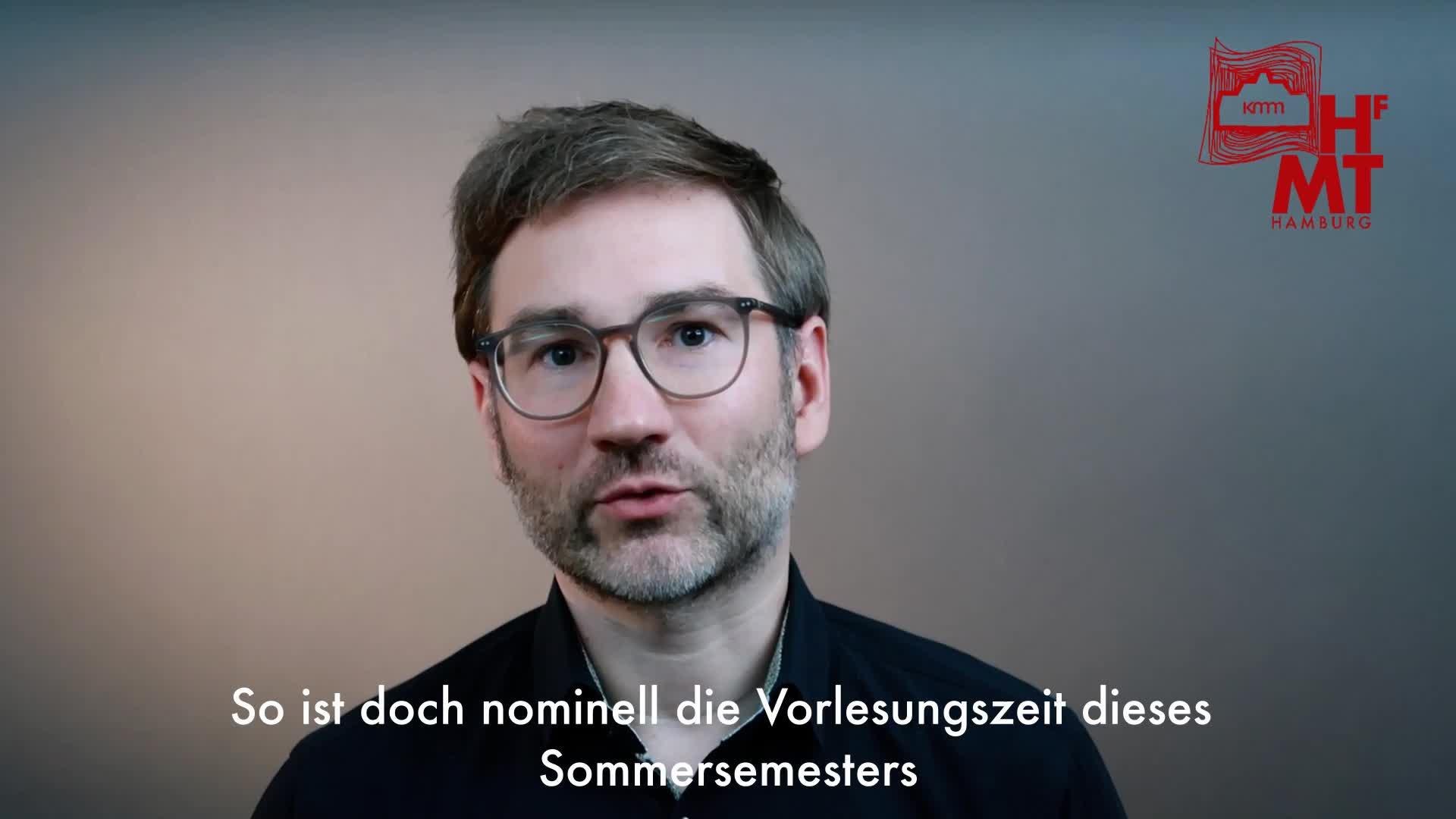 Thumbnail - Ein Videogruß vom Institut KMM Hamburg zum Ende des Sommersemesters
