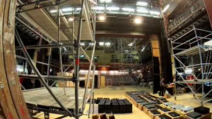 Thumbnail - ZEITRAFFER DER UMBAUARBEITEN IM FORUM DER HFMT - Installation Meyer Sound Constellation Acoustic System