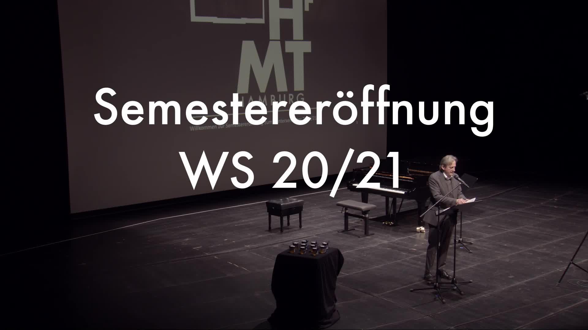 Thumbnail - Semestereröffnung WS 20/21