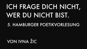 Thumbnail - Poetikvorlesung Ivna Žic -