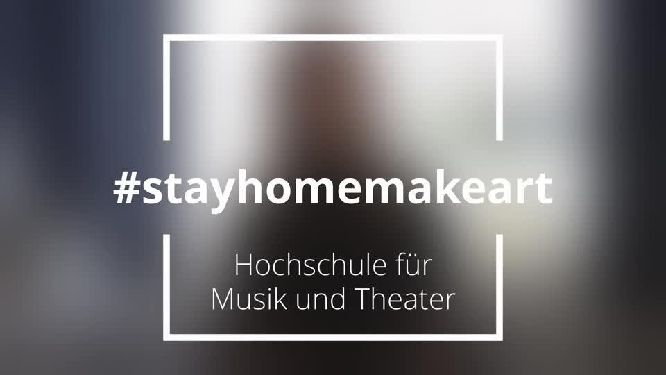 Thumbnail - #StayHomeMakeArt - Compilation
