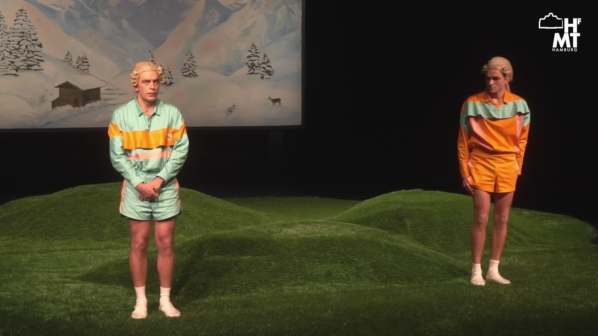 """Thumbnail - BIATHLON DER SEHNSUCHT (WARTEN AUF DEN SNOW) - nach """"zwei Herren von Real Madrid"""" von Leo Meier und """"Don Karlos"""" von Friedrich Schiller"""